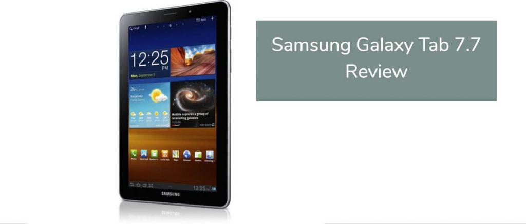 Samsung Galaxy Tab 7 7 Review - Tablet PC Comparison