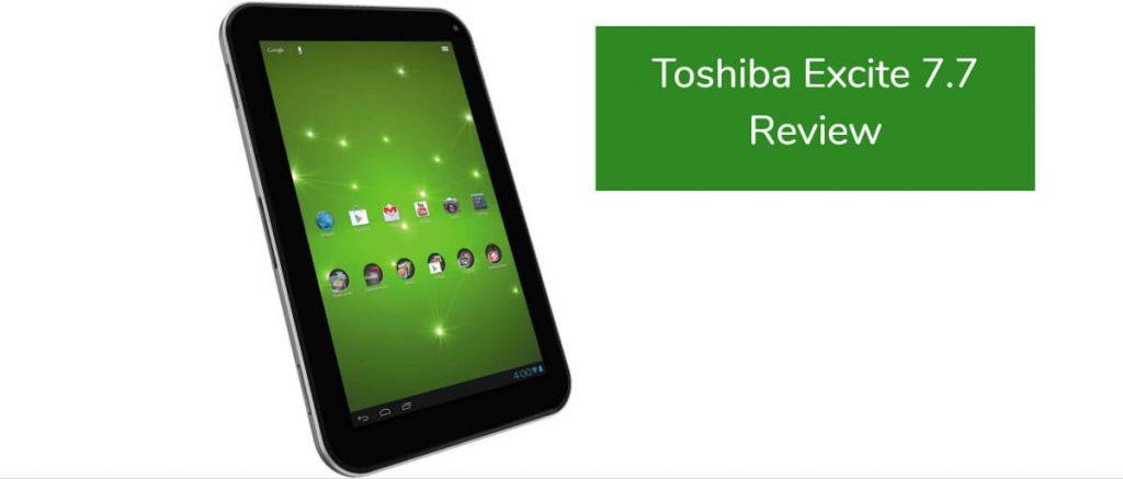 Toshiba Excite 7 7 Review - Tablet PC Comparison